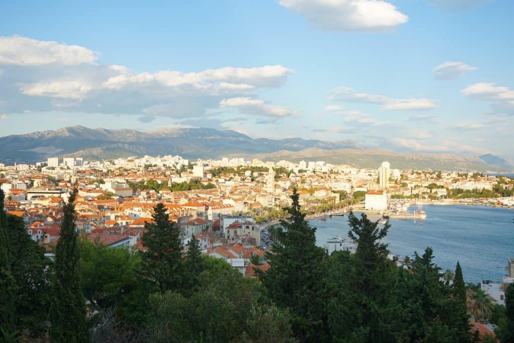 Hill Marjan in Split