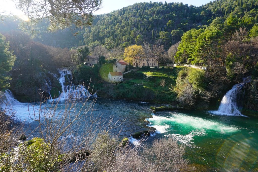 Krka National Park is one of the most popular day trips from Split, Croatia