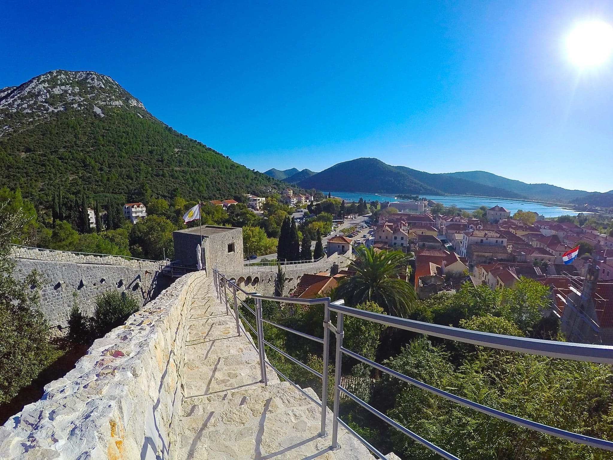 A Guide to Hiking the Walls of Ston in Peljesac, Croatia
