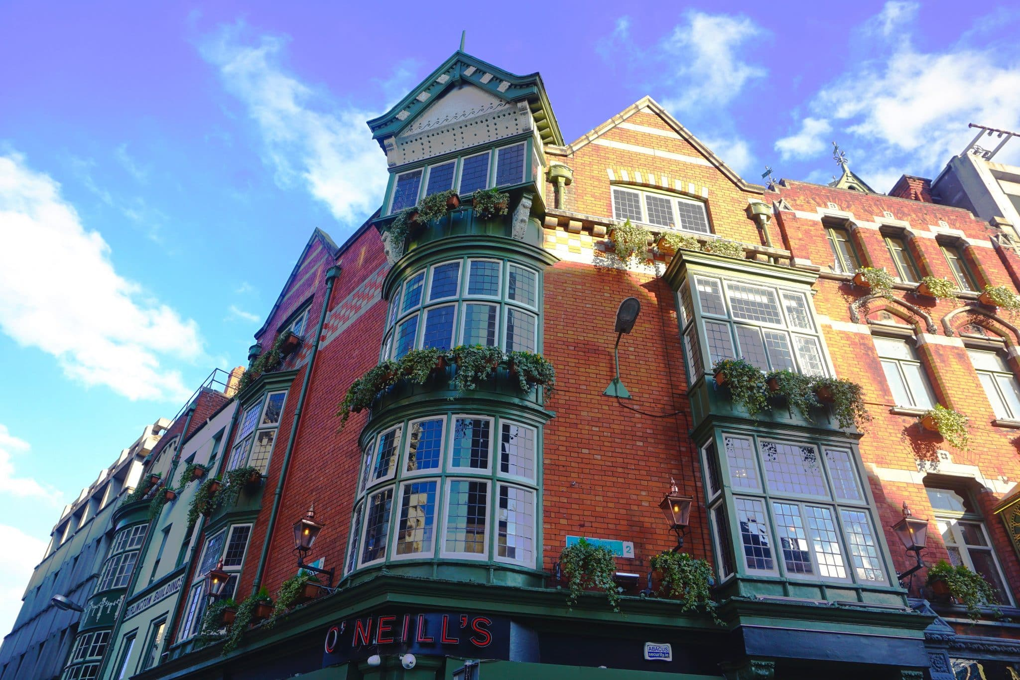 O'Neil's pub in Dublin, Ireland. Dublin is a popular hub for Americans on the Ireland Working Holiday Visa.