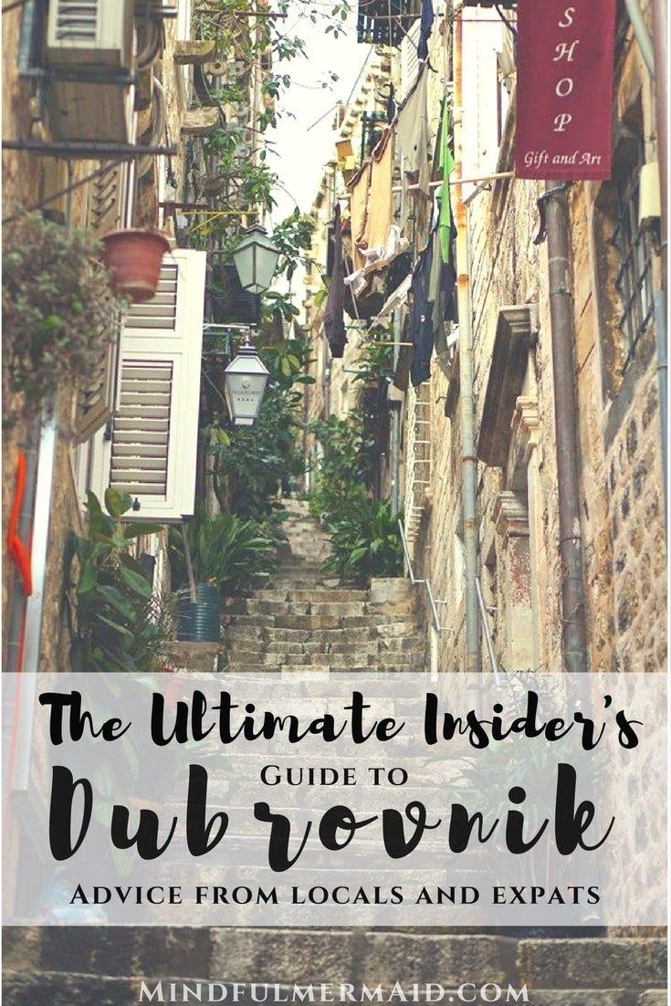 Insider Dubrovnik Guide
