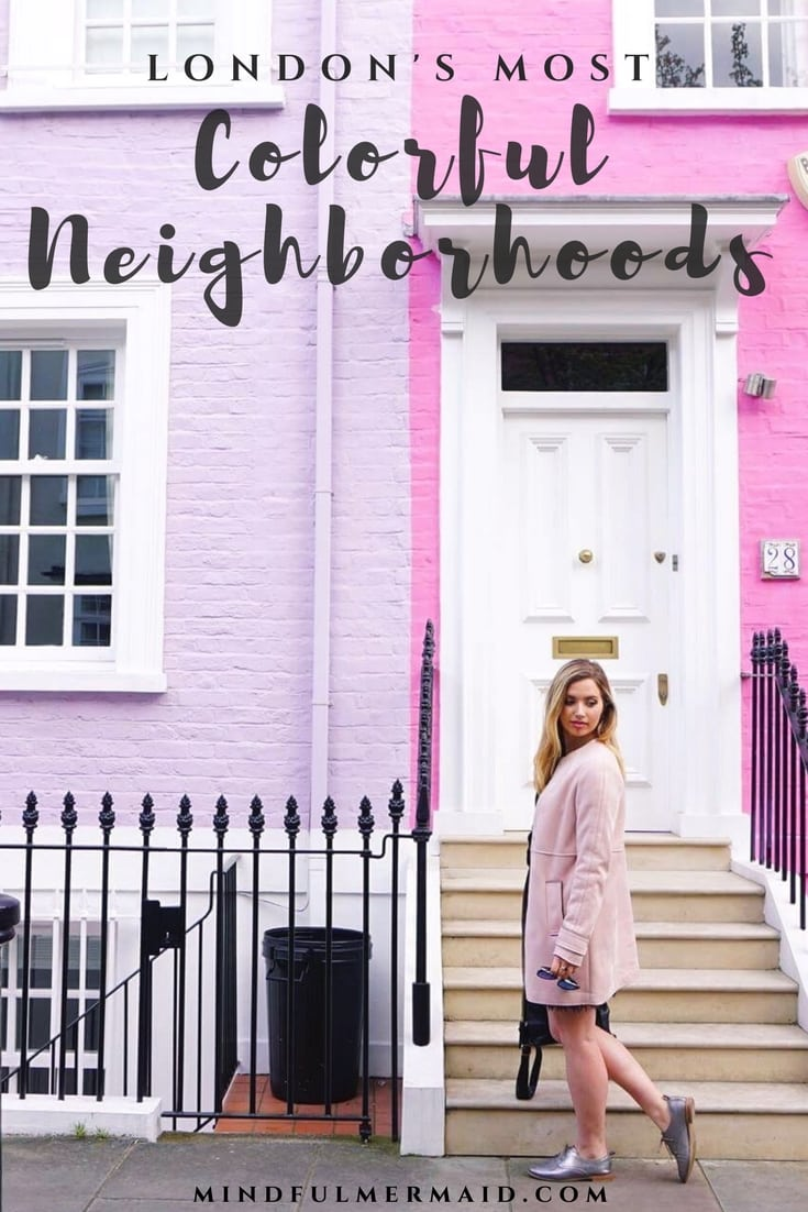 Chelsea and Notting Hill London's colorful houses and must-see places, including a downloadable map. Click for more pictures of London's Wysteria and pastel houses!
