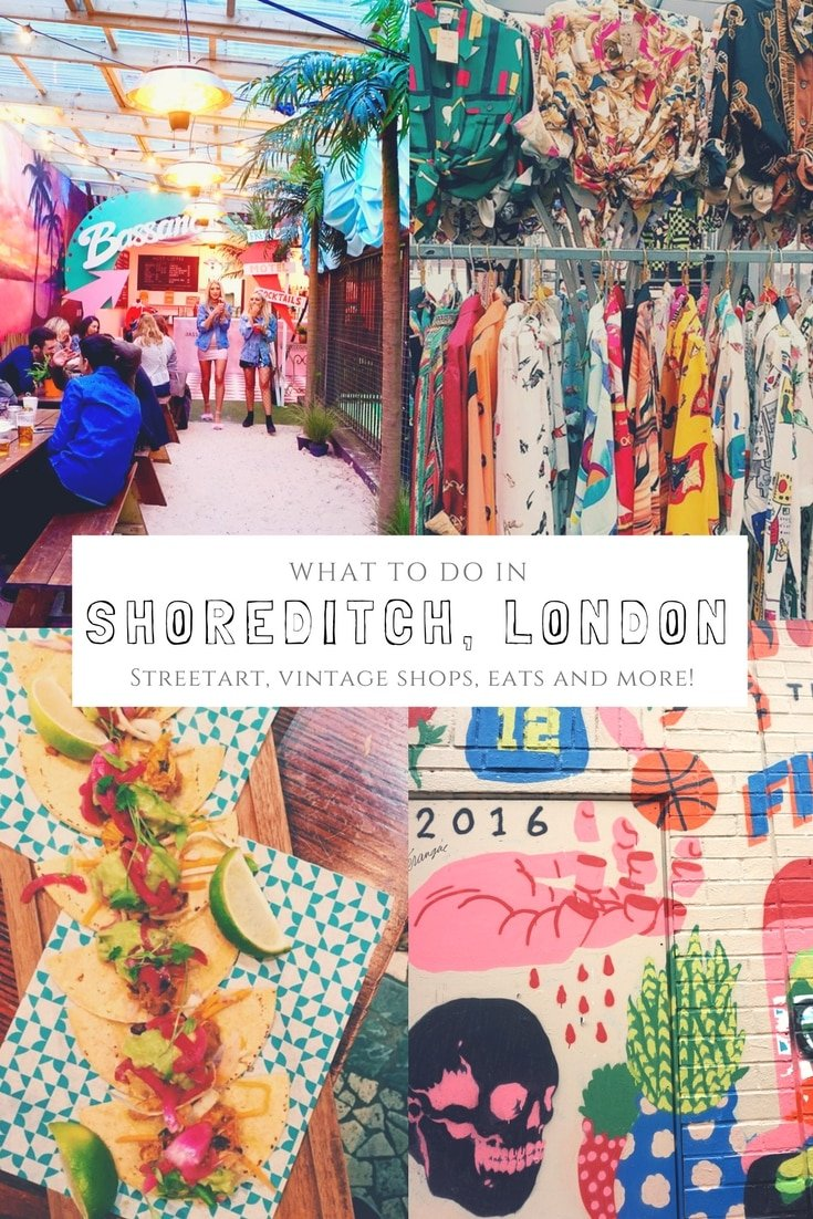 Shoreditch, London is a haven for foodies, hipsters, and thrifters alike. From street art, markets, and street food, it's without a doubt one of London's coolest neighborhood. What to se