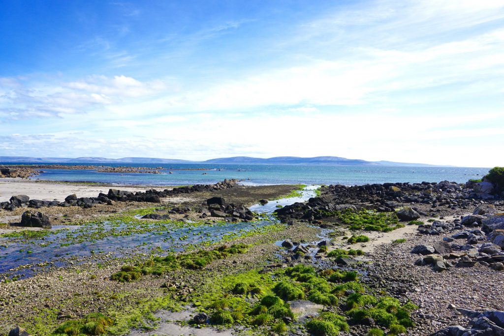 Surrounding beaches of Galway Ireland, on the Irish West Coast. This is an ideal spot along the Wild Atlantic Way.