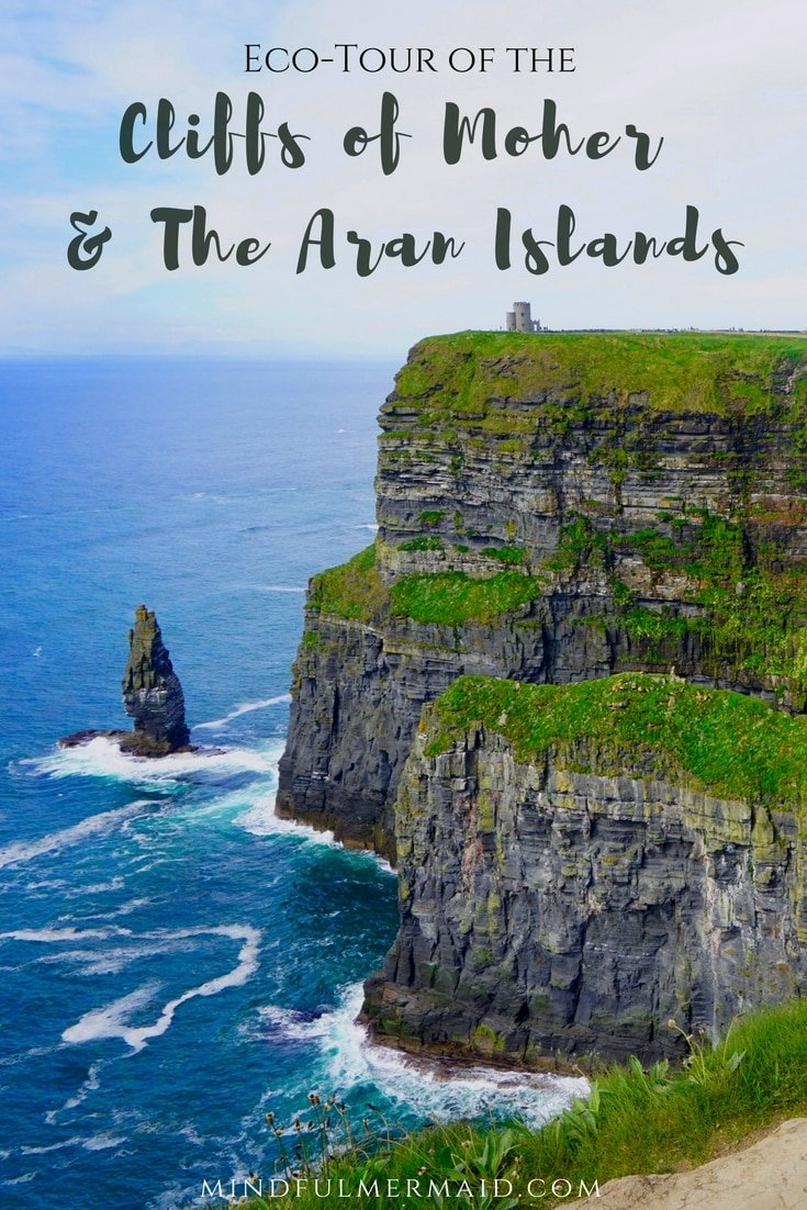 Experience Ireland's more pristine nature and ambition conservation efforts by visiting the Cliffs of Moher and the Aran Islands. Click for more pictures and reccomendations!