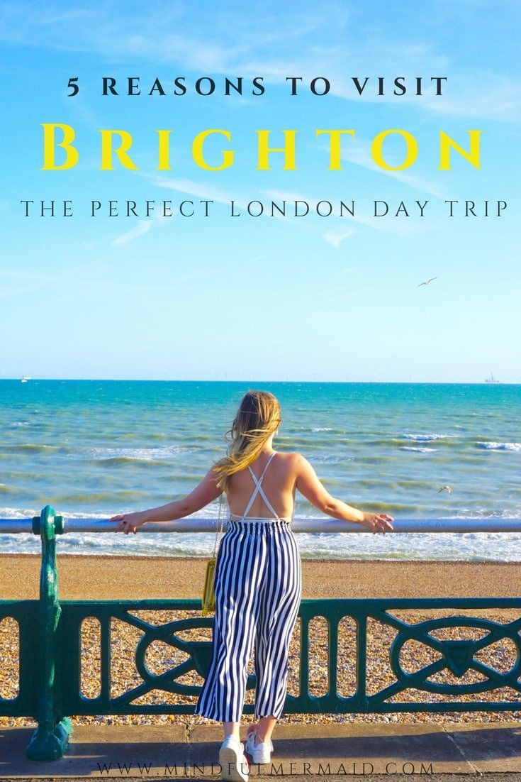 Brighton, England is a seaside eclectic town, the perfect day trip from london. Here's an inside look at all of Brighton's attractions, including Brighton pride and the Brighton Pavilion