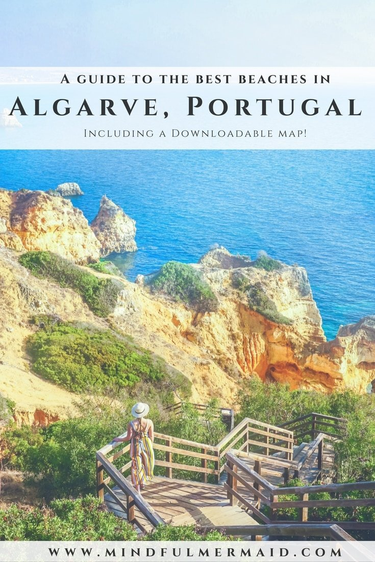 Where to find the best beaches in Algarve Portugal, including a downloadable google map! Lagos, Faro, Algarve Portugal, how to get to Algarve Portugal