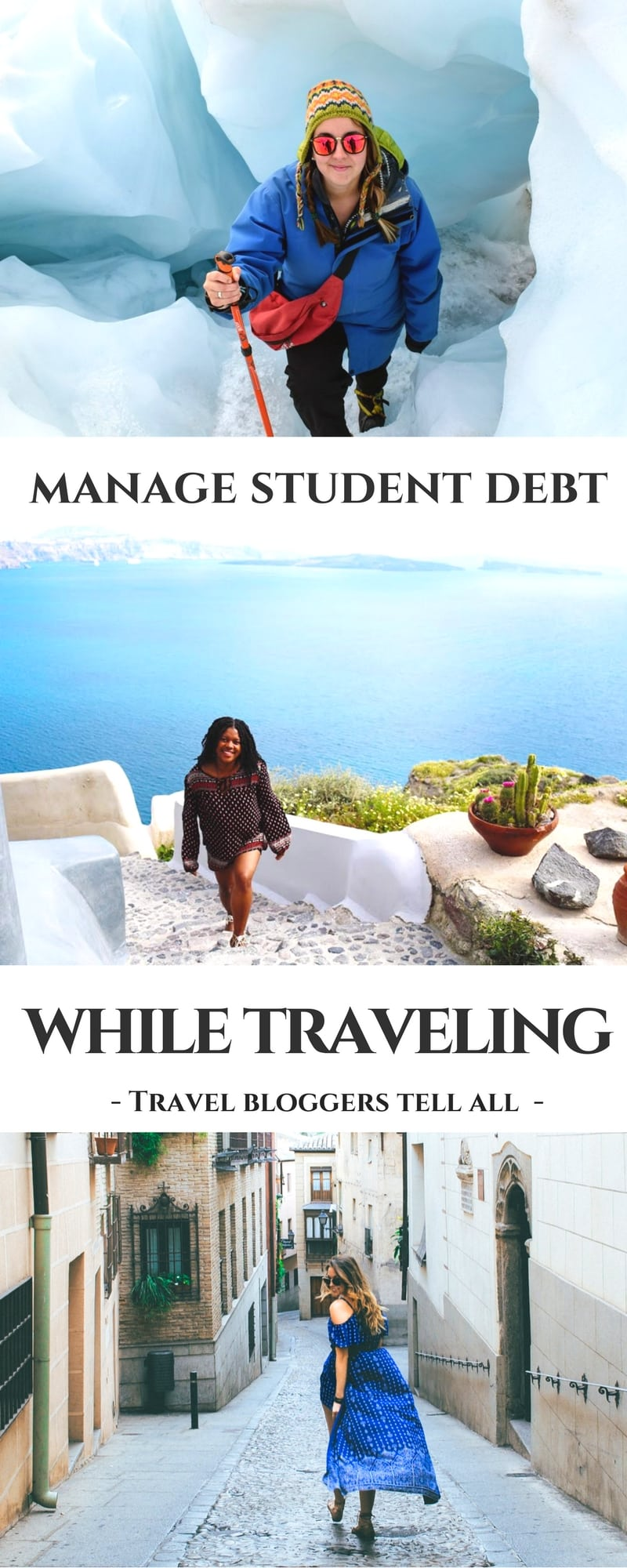 student debt traveling