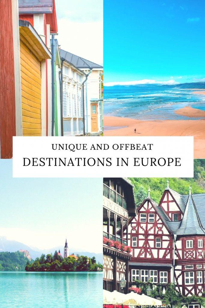 Europe Travel, offbeat destinations
