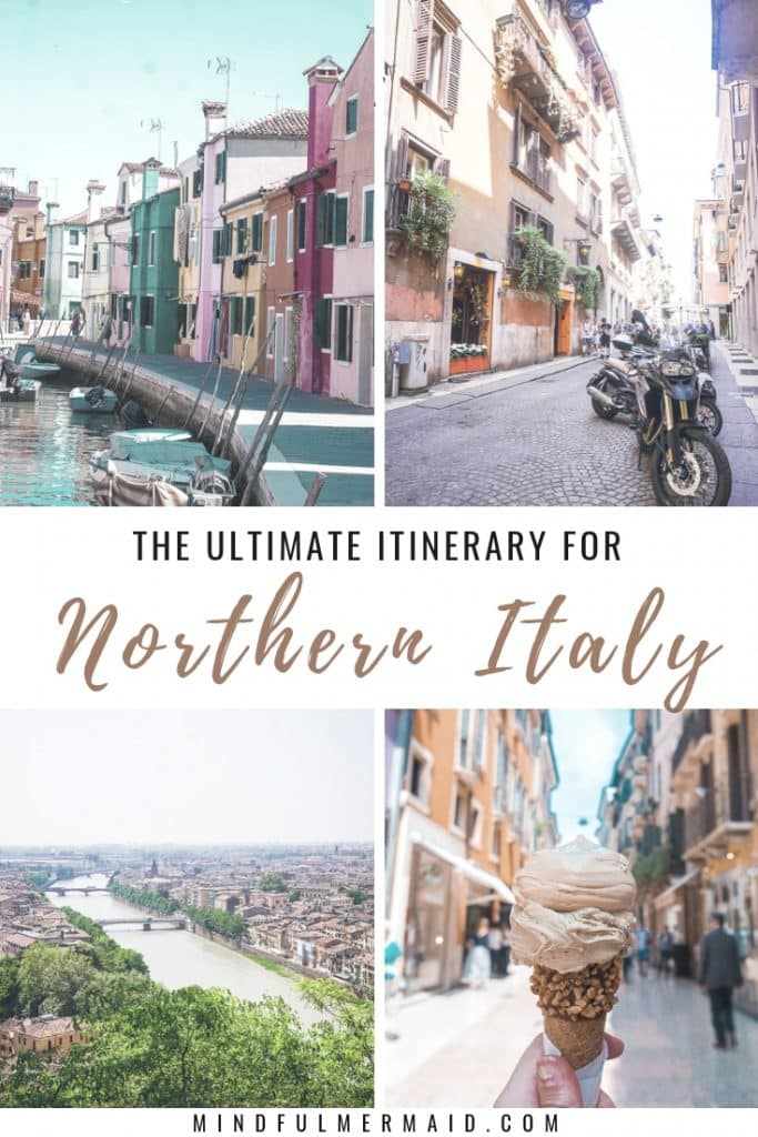 Northern Italy Travel Itinerary 1 week #verona #venice #italy #garda