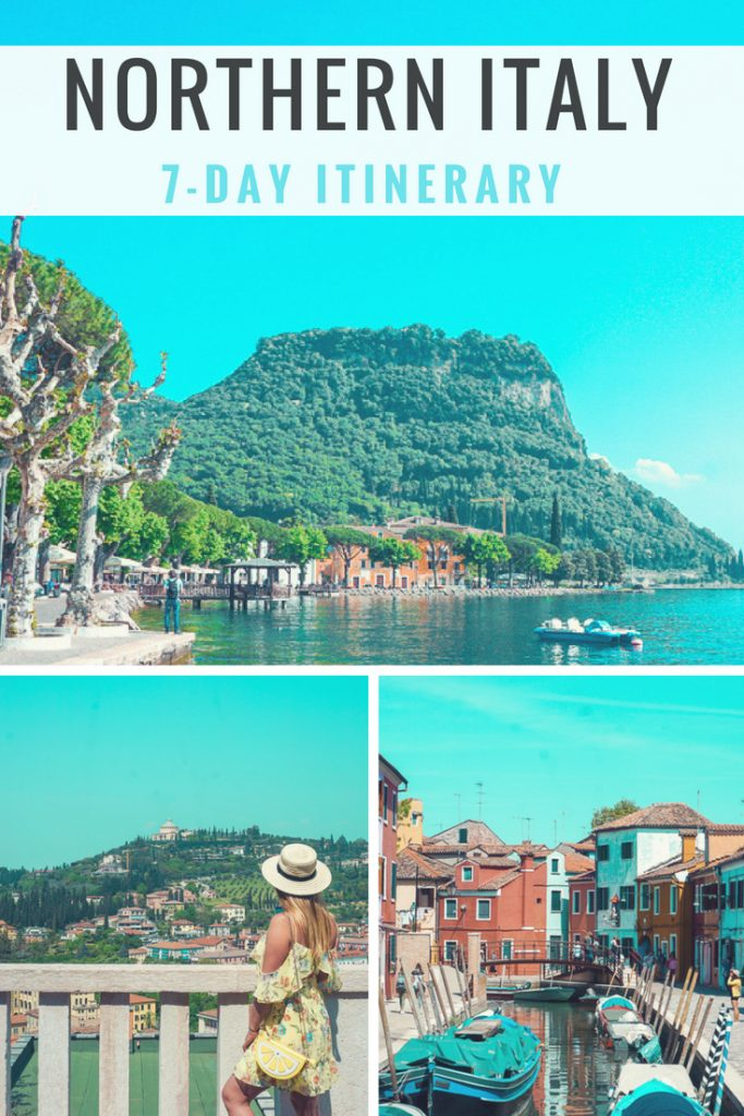 Northern Italy travel Itinerary #italytravel