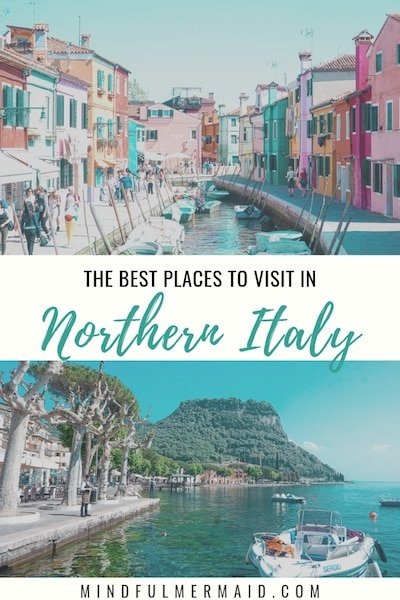Northern Italy travel itinerary with or without car through Venice, Verona, and Lake Garda.