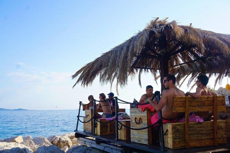Pirate social club in Mlini
