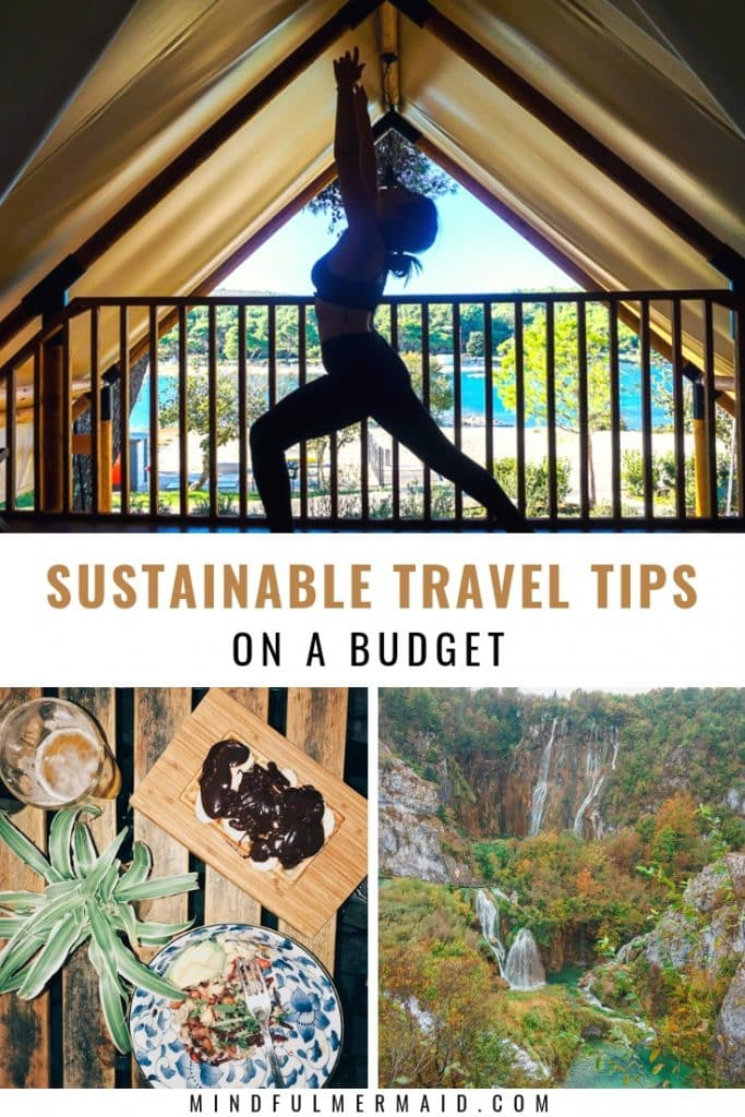Sustainable travel tips on a budget