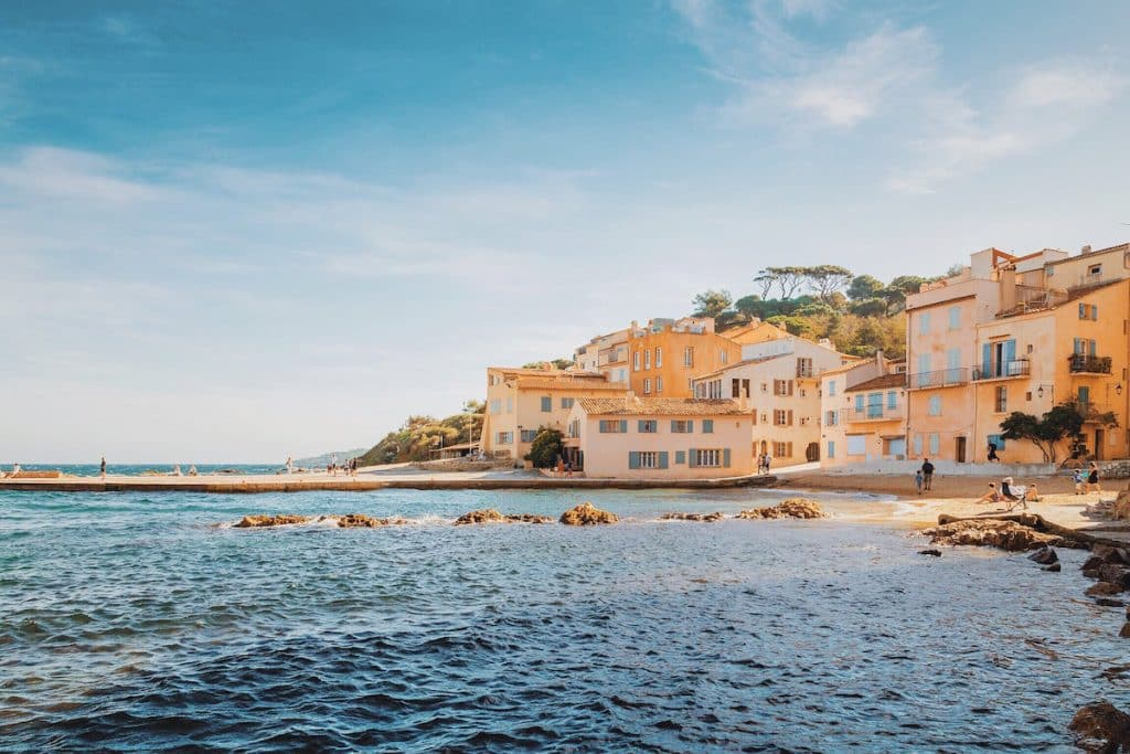 St. Tropez is easily one of the most luxurious destinations in  France. The resort town is known for having some of the best beaches in the South of France.
