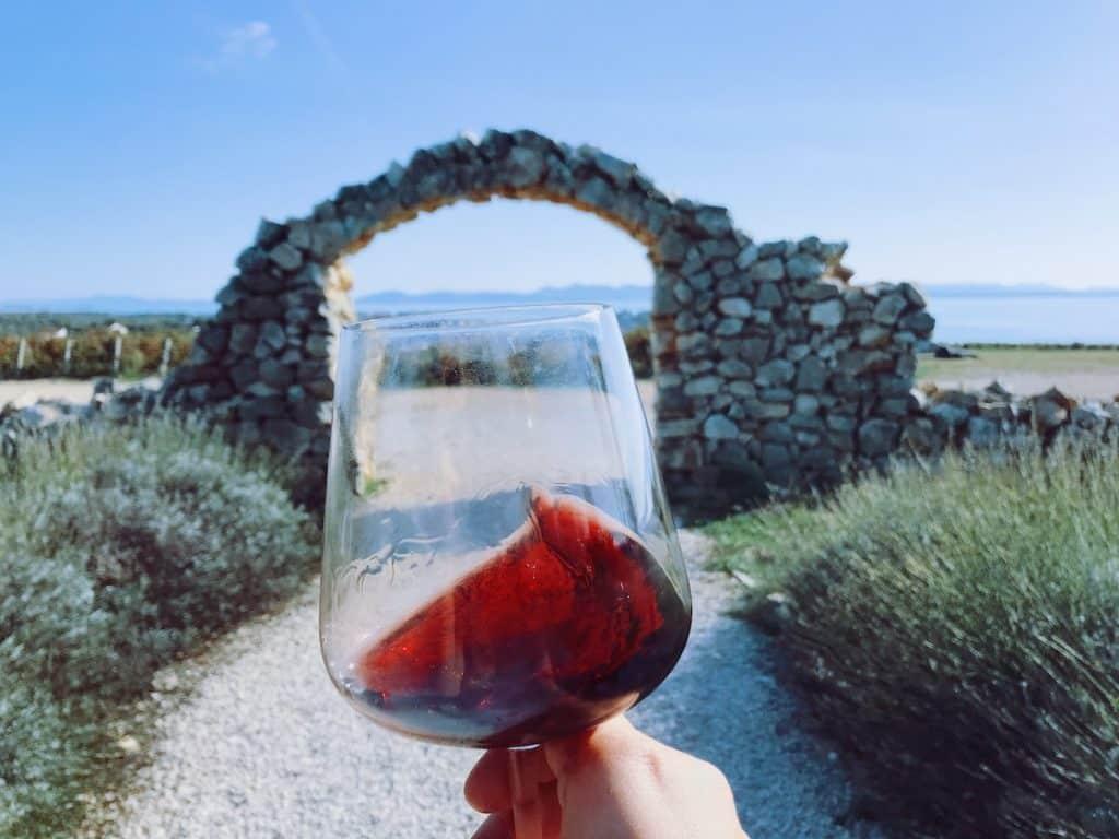 Croatia facts: zinfandel wine from Croatia.