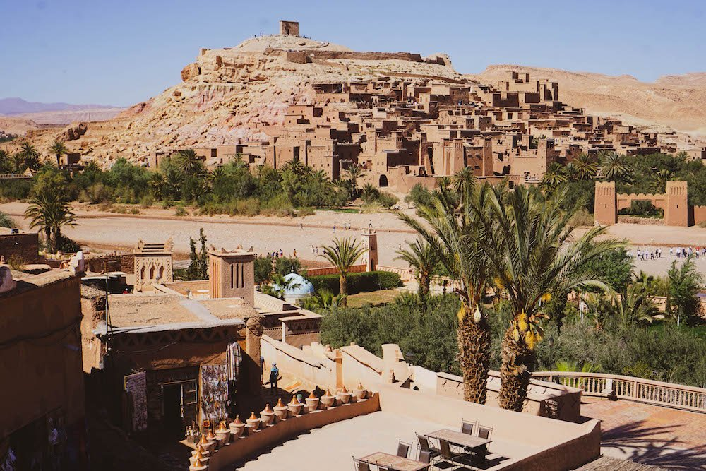 10 day morocco itinerary starting in Ait Ben Haddou