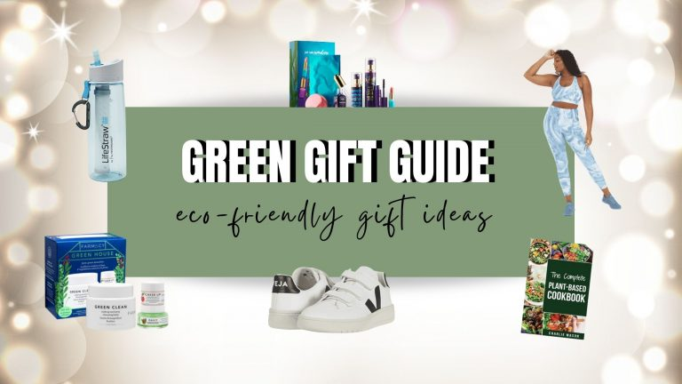 green gifts to give. eco-friendly products